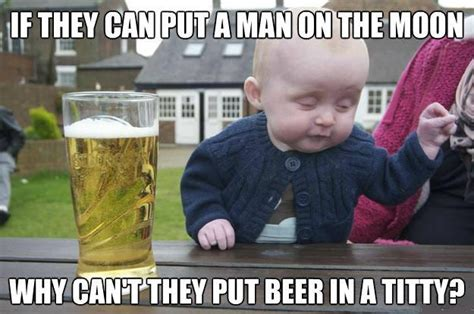 Titty Meme - beer in a titty funny pictures quotes memes jokes