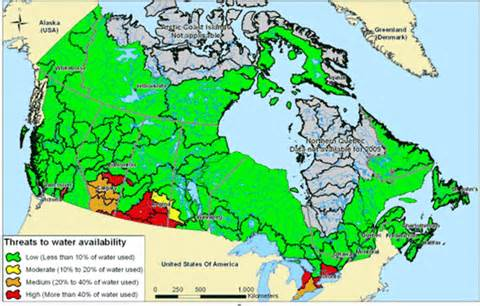 archived environment and climate change canada water