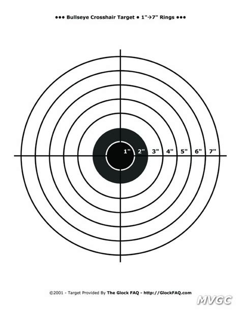 printable nra targets printable targets mystic valley gun club
