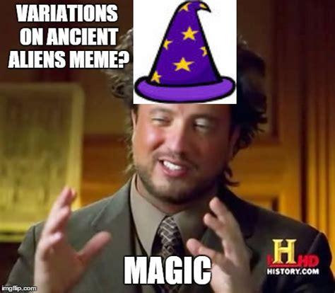Meme Maker Aliens - ancient aliens meme imgflip