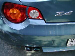 z4 chrome exhaust tips and more