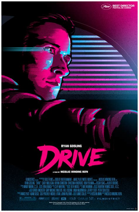Drive Poster | drive poster by james white 3 posters giveaway winners