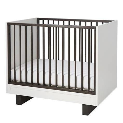 mini crib elevate mini crib mattress set the land of nod