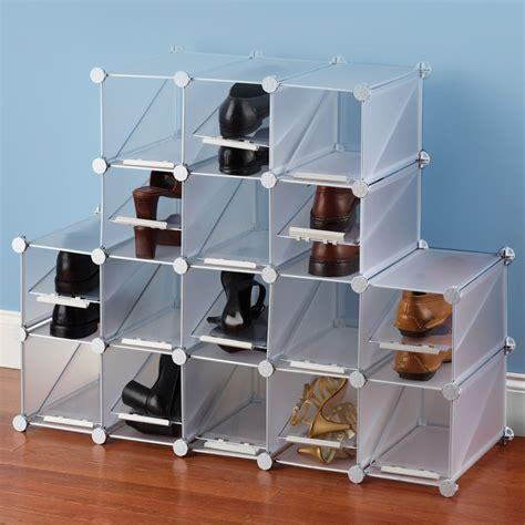 Tas Sepatu Tempat Penyimpanan Sepatu Kotak Sepatu Shoe Bag X441 the configurable cubic shoe rack hammacher schlemmer