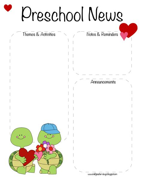 january preschool newsletter template january blank newsletter template search results