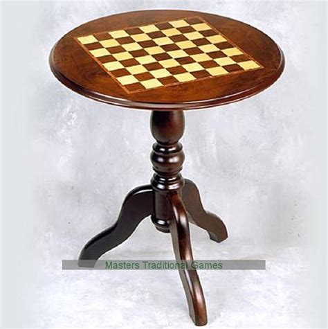 chess table giglio 58cm round chess table