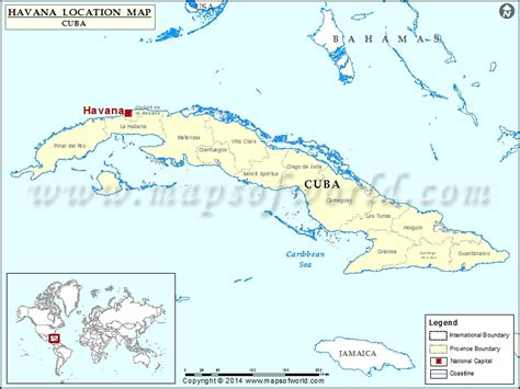 cuba on map of world where is location of in cuba map