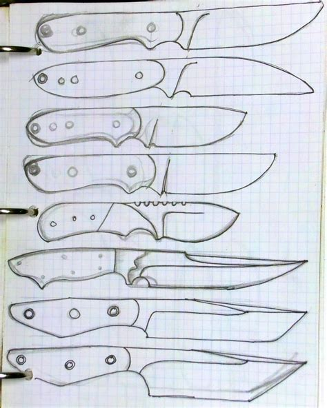 knife patterns knife designs silent version youtube