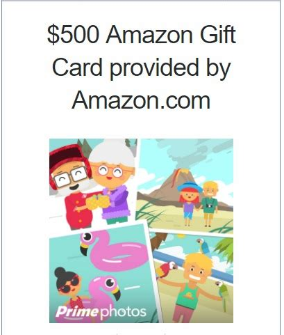 Gift Card Puzzle Vault Amazon - amazon prime photos rolls out new features 500 amazon gift card giveaway a rain