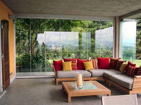 arredamento verande come arredare una veranda coperta