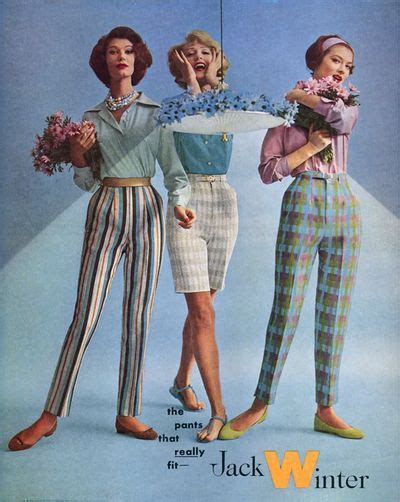 mid mod winter ad 1959 fashion history