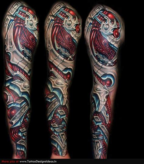 biomechanical tattoo in colour biomechanical tattoos biomech my tattoo pinterest to
