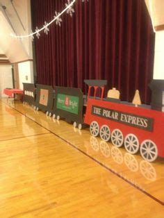 office decorated in the polar express my polar express conductor costume made for my students reading fair made out