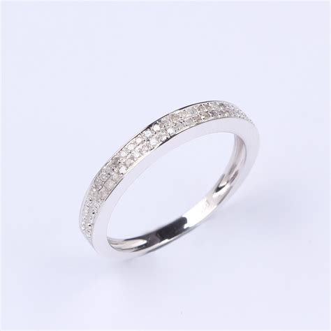 china 18k white gold ring hz 008 china ring