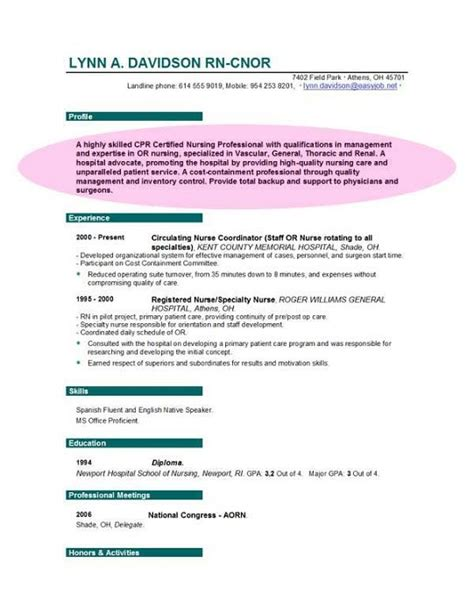 Resume Objective Rn Position by Modern Resume Objective For Rn Position Images Resume