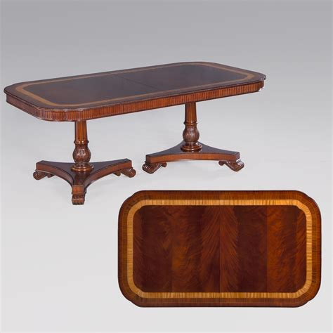 the empire pedestal table dining room collection