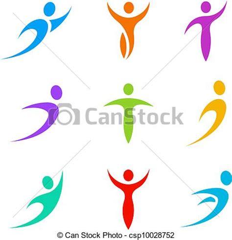 imagenes abstractas vectores clipart vectorial de logotipo deporte empresa negocio