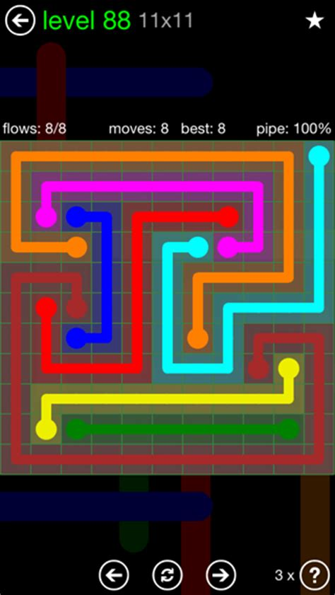 calculator game level 88 flow free solutions flow 11mania pack set 11x11 level 88