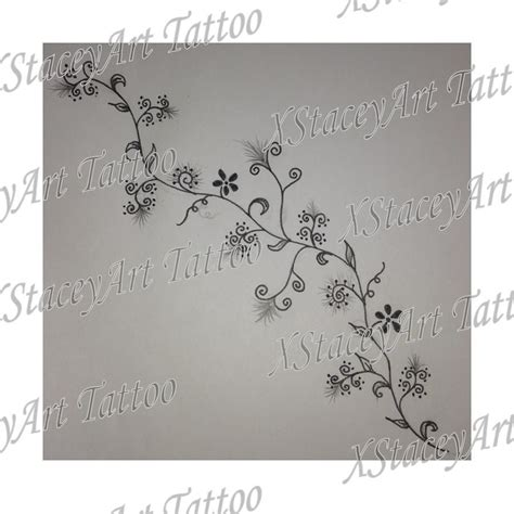 dainty tattoo designs vine design dainty simple ideas