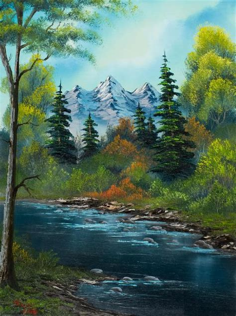 bob ross paintings for sale shopping painting bob ross anglers 85972 bob ross