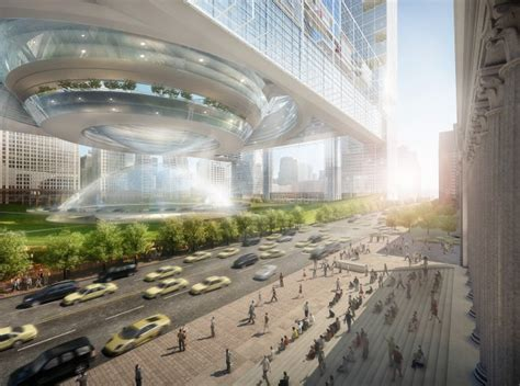 Design Contest For Rail Stations Makeover | a green ultra modern makeover for america s busiest train