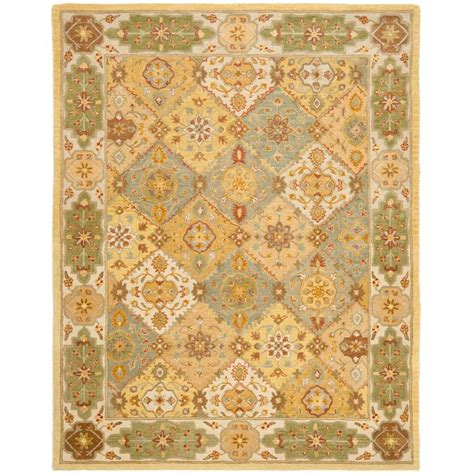 light teal area rug safavieh cedar brook light teal ivory 6 ft x 9 ft area