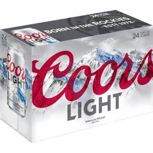 coors light coors light 12 fl oz 24 pack walmart