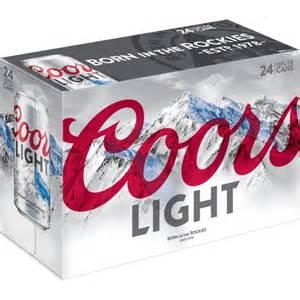 30 pack of coors light coors light 12 fl oz 24 pack walmart