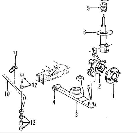 pt cruiser rear suspension diagram i 2001 pt cruiser a mechanic has been