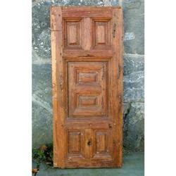 17th century wood confessional door - 100 Doors 17th Floor