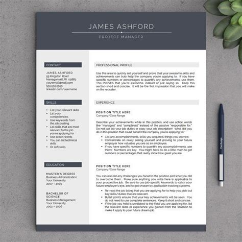 cv templates that stand out top 25 ideas about r e s u m e on free cover
