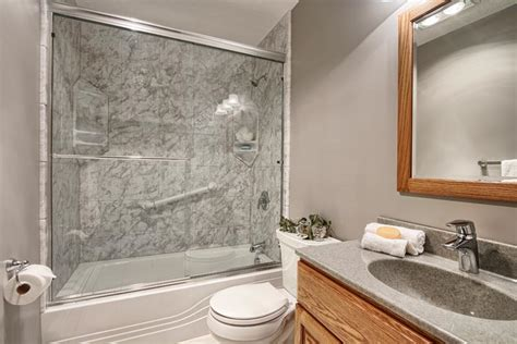 Remodeling Bathroom Shower One Day Remodel One Day Affordable Bathroom Remodel Luxury Bath