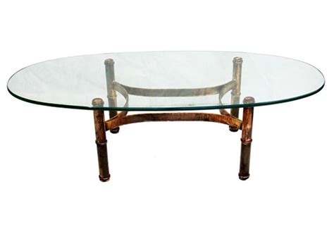 gold and glass table gold bamboo glass coffee table coffee table design ideas