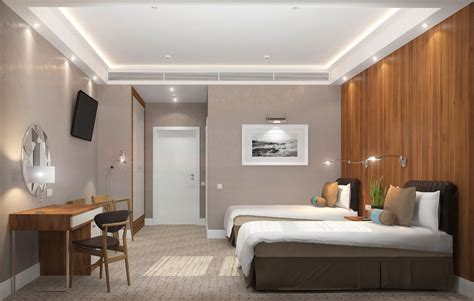 3d rooms 3d visualization quot standard quot rooms in the hotel