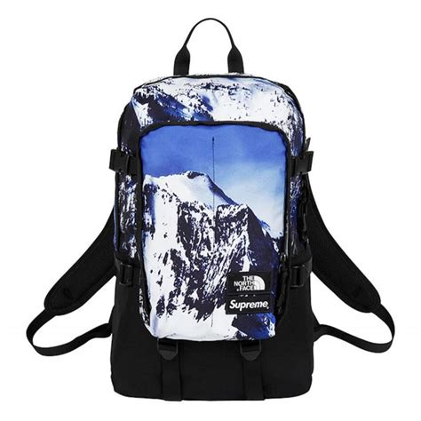 supreme backpack supreme x the backpack mountain print bags