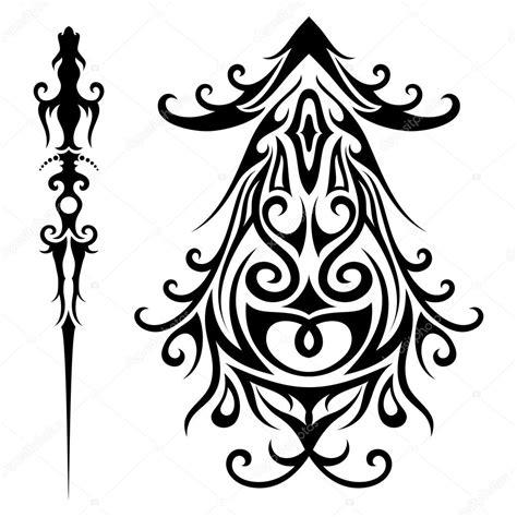 imagenes vectores tribales conjunto de vectores de tatuajes tribales archivo