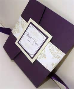 Royalty and elegant purple wedding invitations wedding invitations