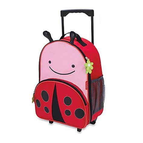 Skip Hop Zoo Luggage Kid Rolling Luggage Giraffe skip hop 174 zoo kid rolling luggage in ladybug bed bath beyond