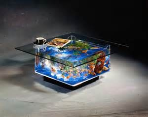 Simple coffee table fish tank   Glass Fish Tanks