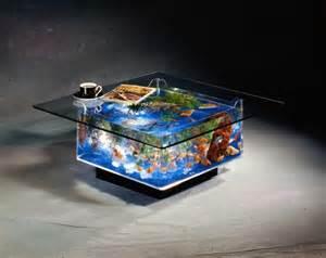 Simple coffee table fish tank   Glass Fish Tanks