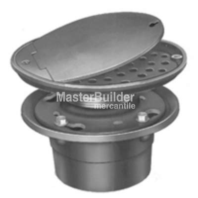 zurn floor drain cover zurn z315 vandal proof access drain w hinged solid locking cover masterbuilder mercantile inc