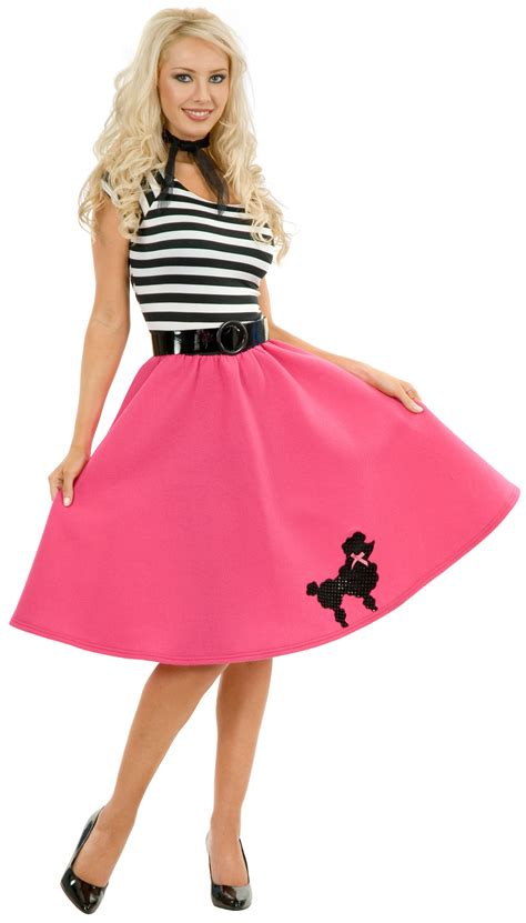 1950s poodle skirt costumes for