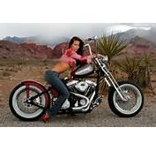 Motos Y Mujeres Resoluci&243n HD Chicas Posando En Bobbers