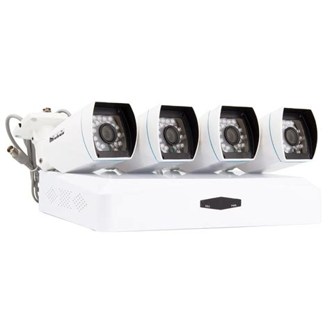Cctv Di kit di 4 telecamere cctv bullet ahd registratore dvr hd ledkia italia