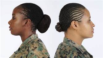 marine corps haircut styles board decision updates hair regulations gt the