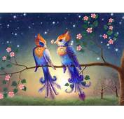 Full View And Download Love Birds Wallpaper 4 With Resolution Of