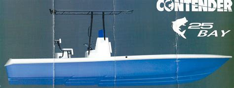 yellowfin boat drawing new contender 25 bay boat nice copy the hull truth