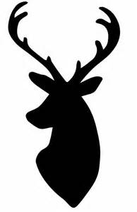 Craft deer stencil google search christmas deer heads deer head
