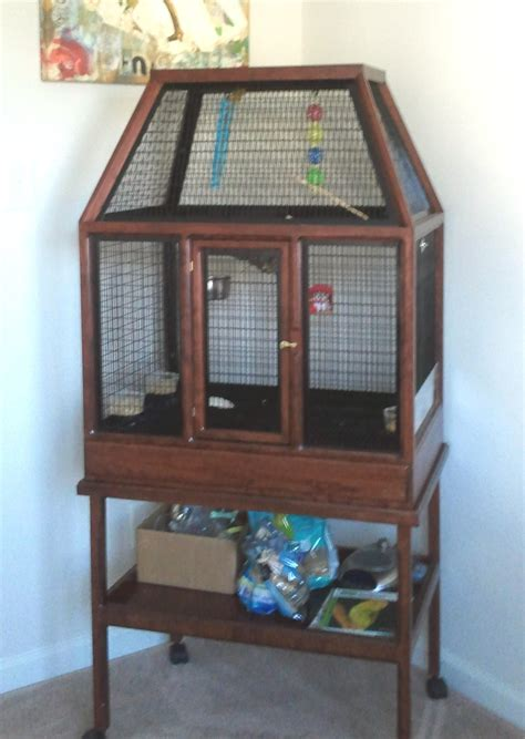 how to your to stay in the cage big bird cages at bird cage design