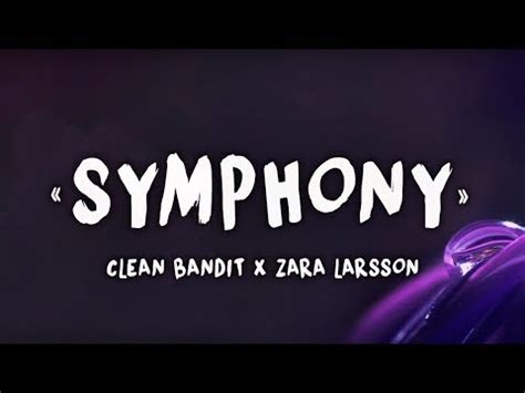 zara larsson symphony instrumental mp3 download symphony feat zara larsson clean bandit mp3 song online